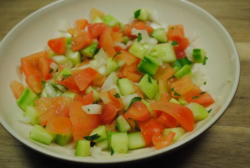 Simple Moroccan Salad Recipe - 2