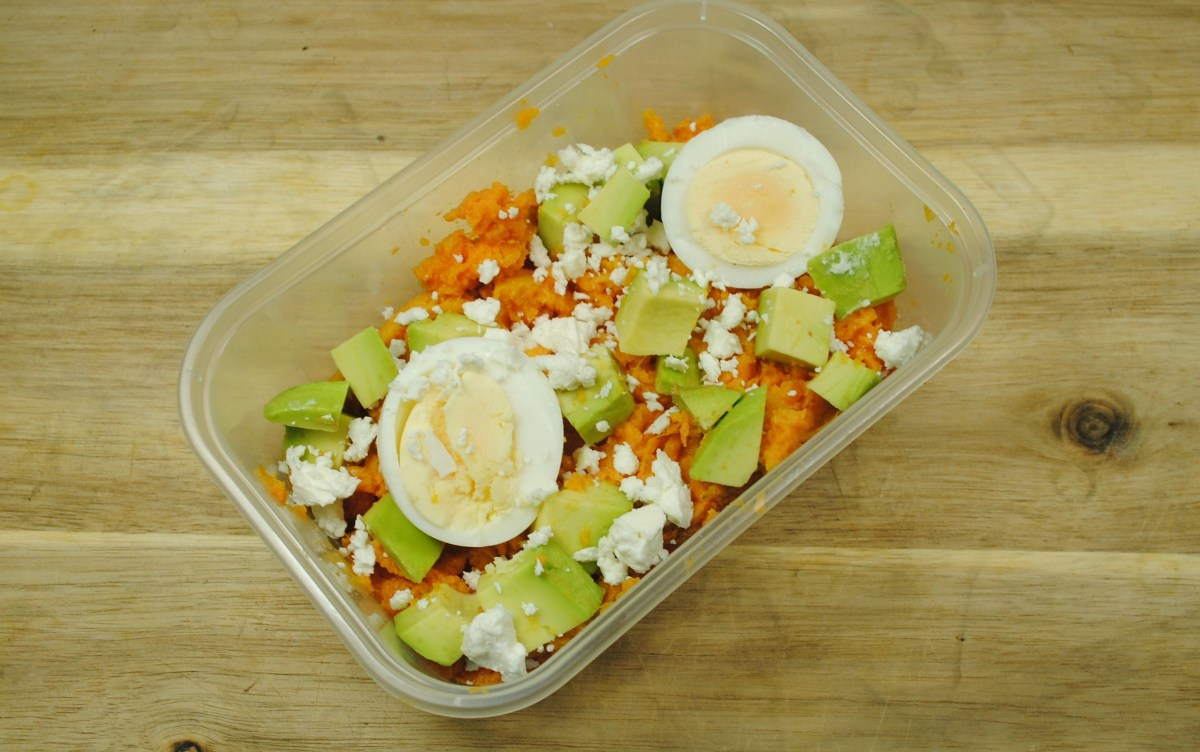 Sweet Potato and Egg Salad Box Recipe - 2
