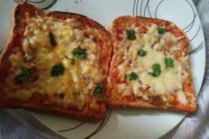 Spicy Cheese on Toast recipe