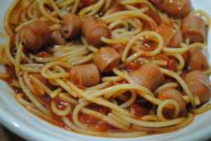 Hot dog spaghetti Hot dog spaghetti recipe - 2