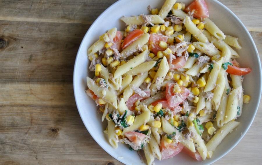 cheesy tuna pasta recipe - 2