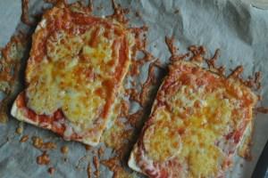 pizza toast recipe - 1