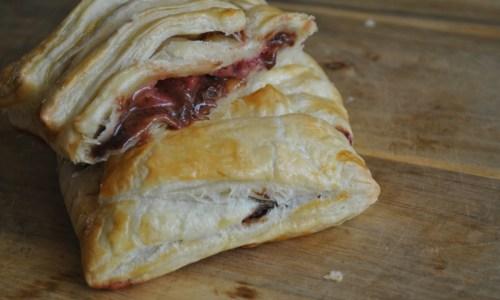 strawberry chocolate pastry puff recipe - 1