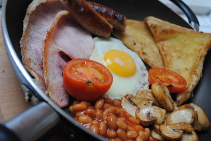 One pan fry up