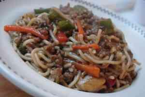 beef veg stir fry noodle 3