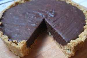 chocolate tart how to recipe 09
