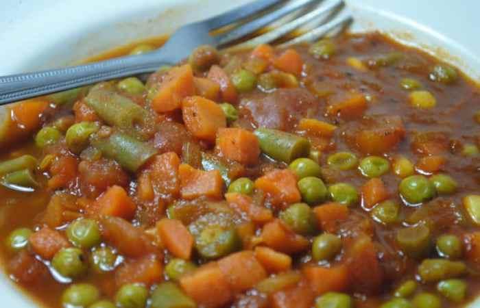 Simple Vegetarian curry