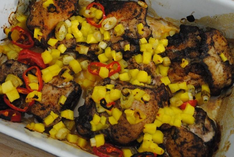 Caribbean-style sunshine chicken recipe - 1