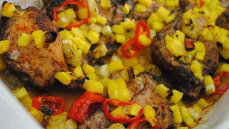 Caribbean-style sunshine chicken recipe - 2