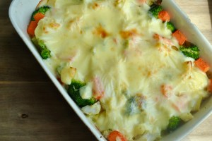 creamy cheese vegetable bake recipe - 3