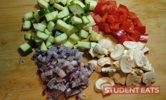 veggie pasta bake 1