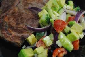 salad steak recipe  - 1