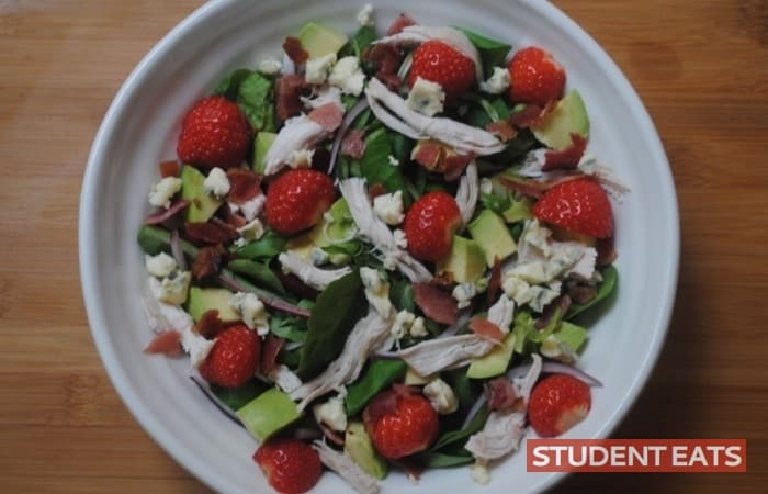 strawberry chicken salad 2