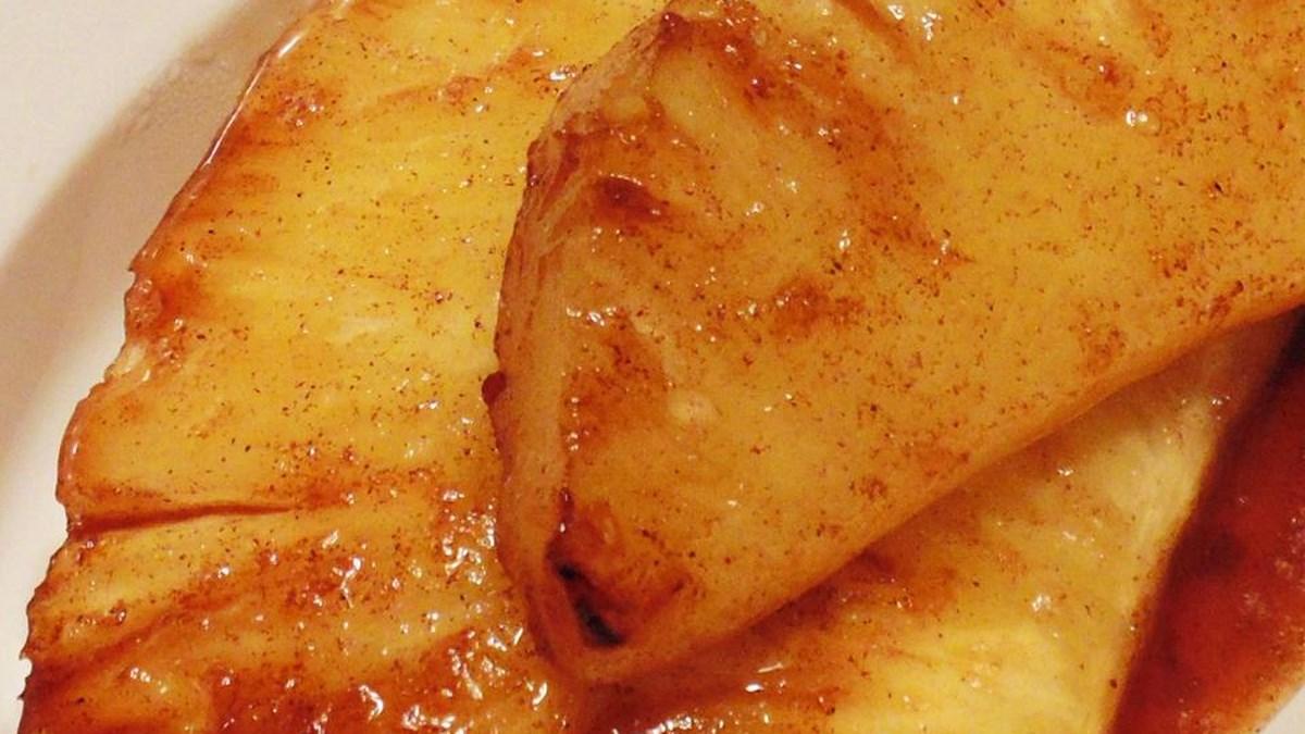 grilled pineapple bbq vegan recipe