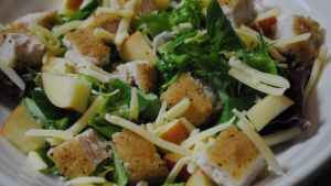 Southern Fried Chicken Salad recipe