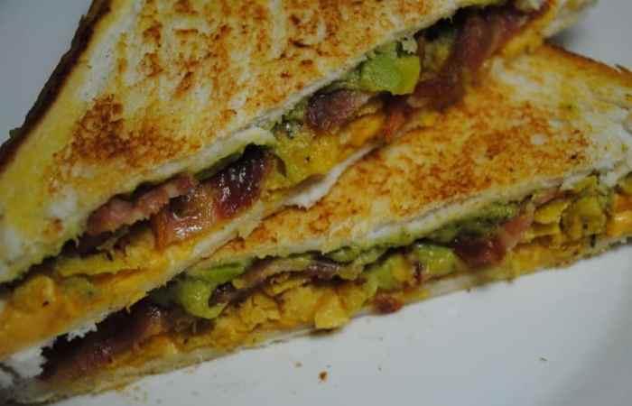 nacho tortilla toastie recipe