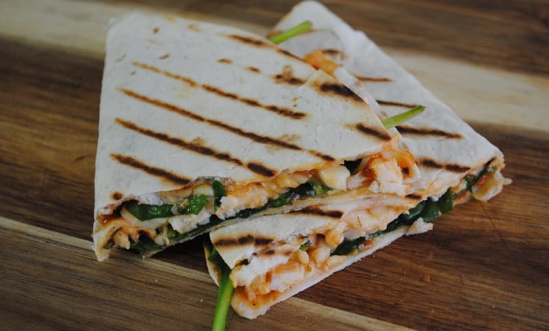 'Italian' Chicken Quesadilla