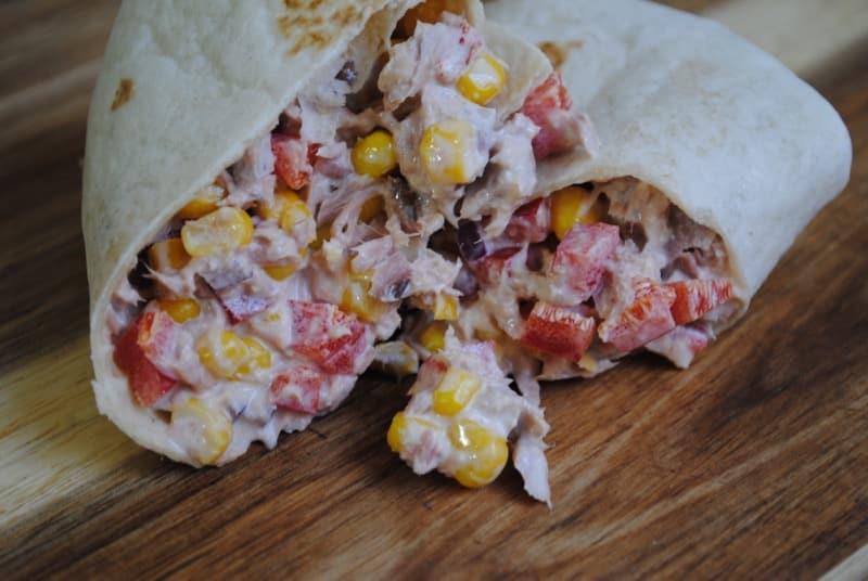 Tasty Tuna Crunch Wraps