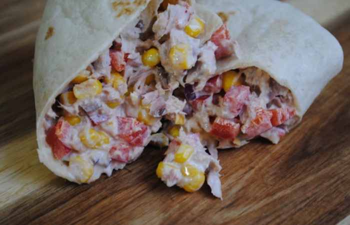 Tasty Tuna Crunch Wraps