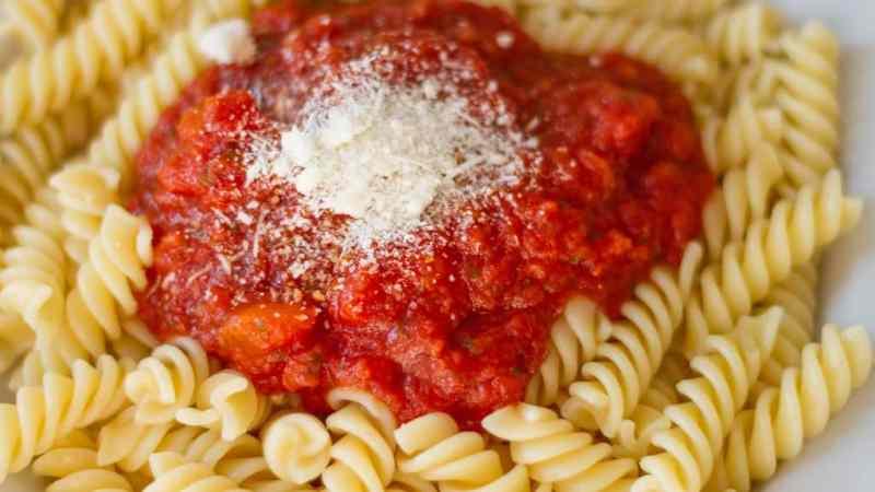 pasta sauce student recipe