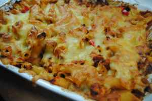 BBQ Chicken Pasta Bake Recipe - 1
