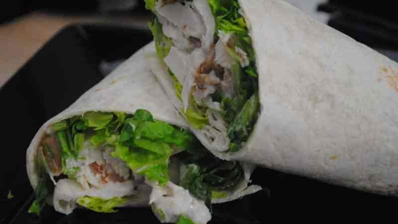 chicken bacon Caesar wraps recipe - 1