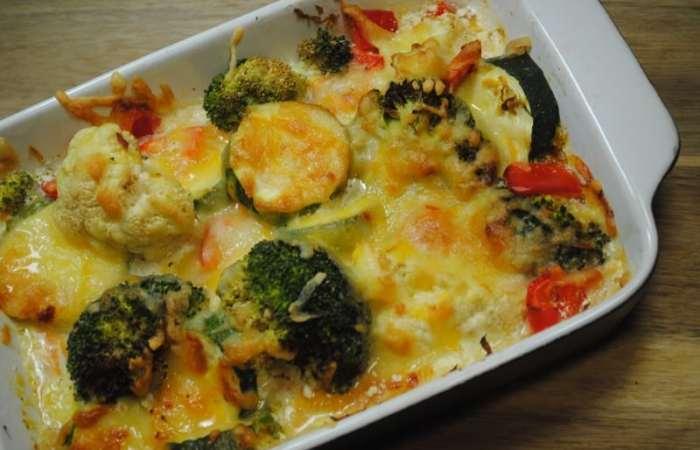 Healthy One Dish Veggie Bake