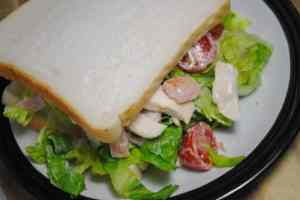 Chicken And Bacon Caesar Sandwich Recipe - 1