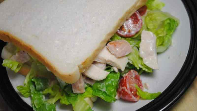 Chicken And Bacon Caesar Sandwich Recipe - 1