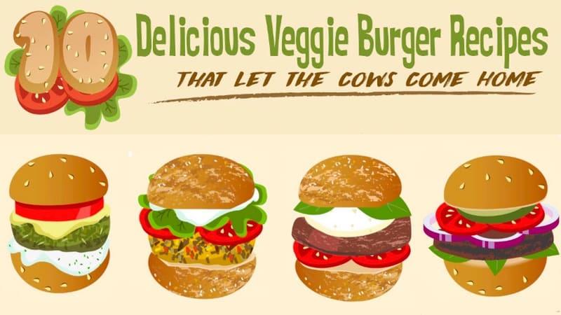 10 veggie burger recipes