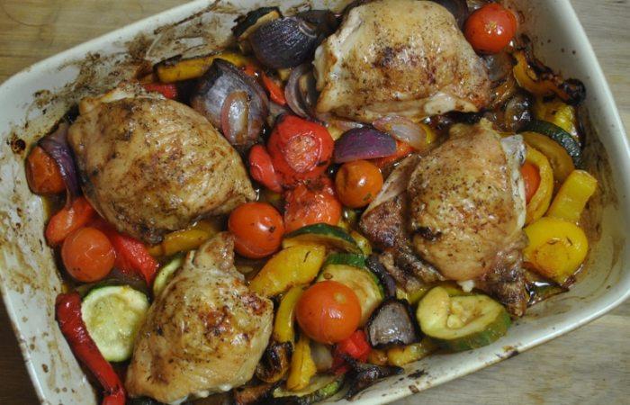Healthy Lemon Roast Chicken Vegetable Recipe - 2