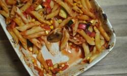 vegan vegetable pasta bake recipe - 2