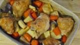 One Dish Roasted Veggies and Chicken Traybake recipe - 2