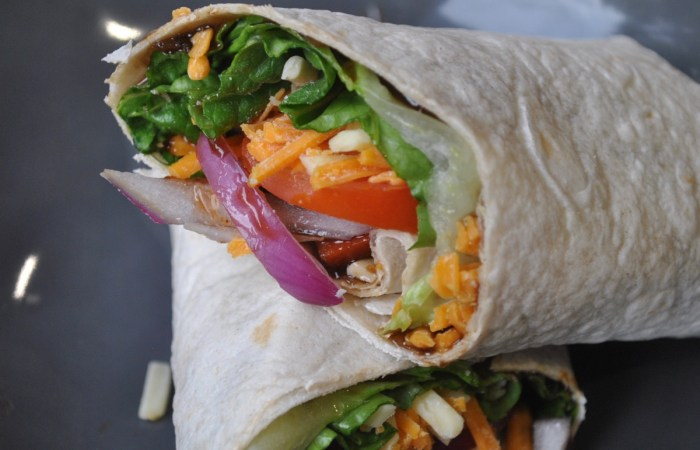 cheese pickle veggie vegan wraps recipe - 2