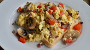 Amazing Veggie Scrambled Eggs recipe - 2