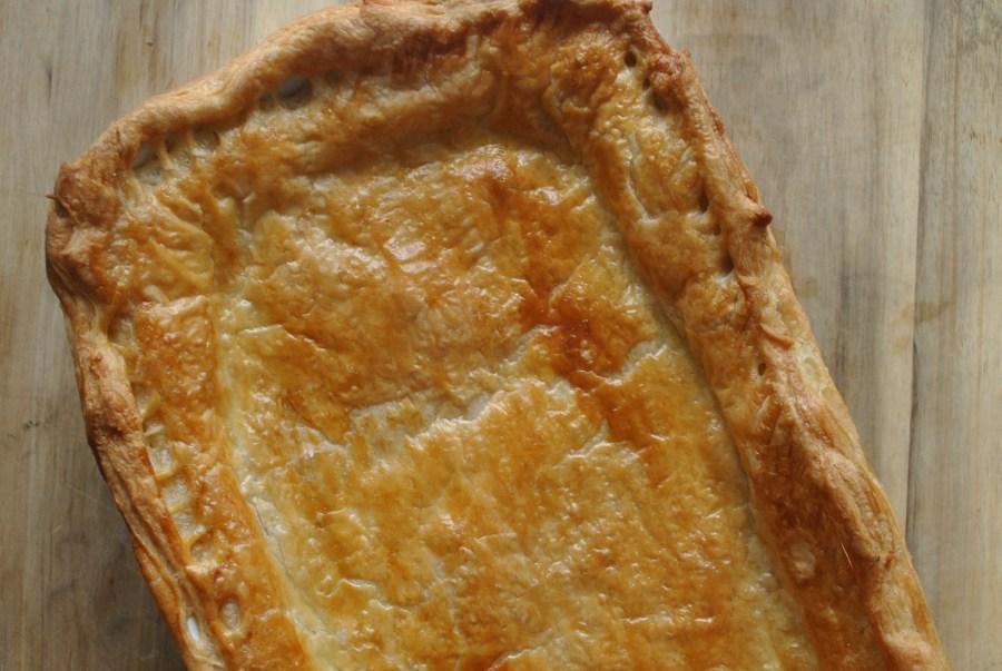 Creamy Chicken and Mushroom Puff Pastry Pie Recipe - 1