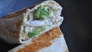 Healthy Crispy Chicken and Avocado Wraps recipe - 1