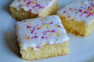 School Dinner Cake sprinkle recipe - 1