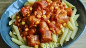 Super Simple Sausage Pasta Recipe - 1
