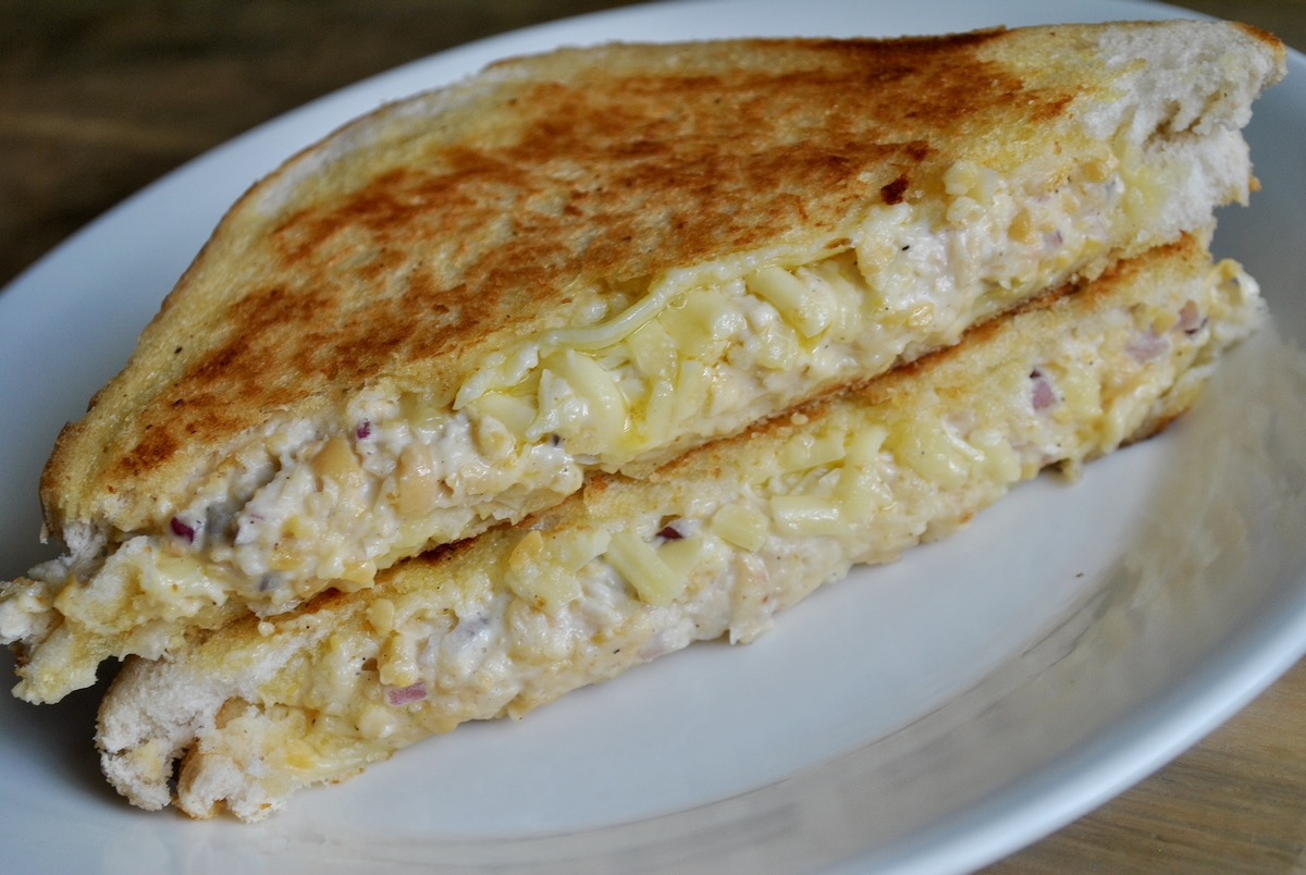 vegan tuna melt recipe - 2
