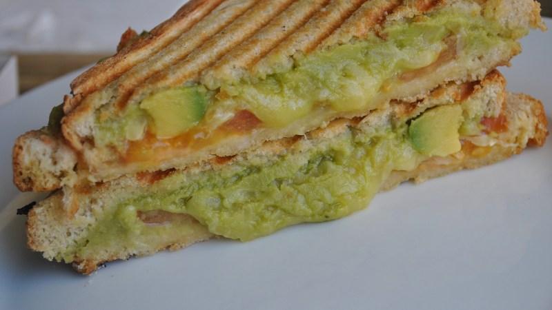 Avocado and Cheese Toastie recipe - 1