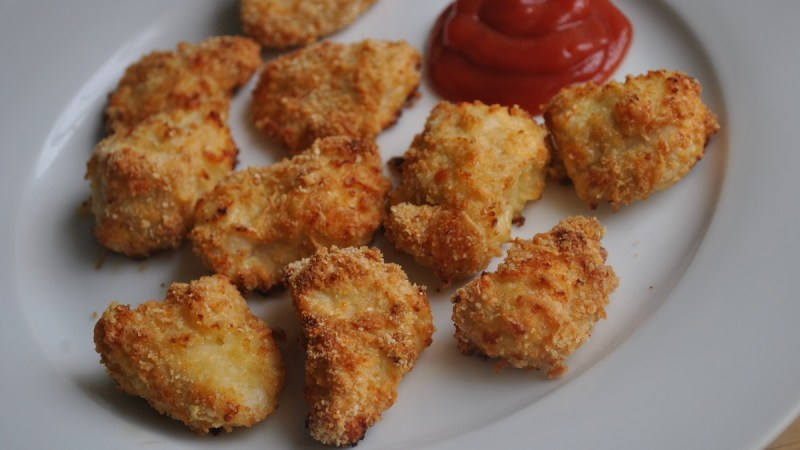 crispy cheesy chicken bites recipe - 1