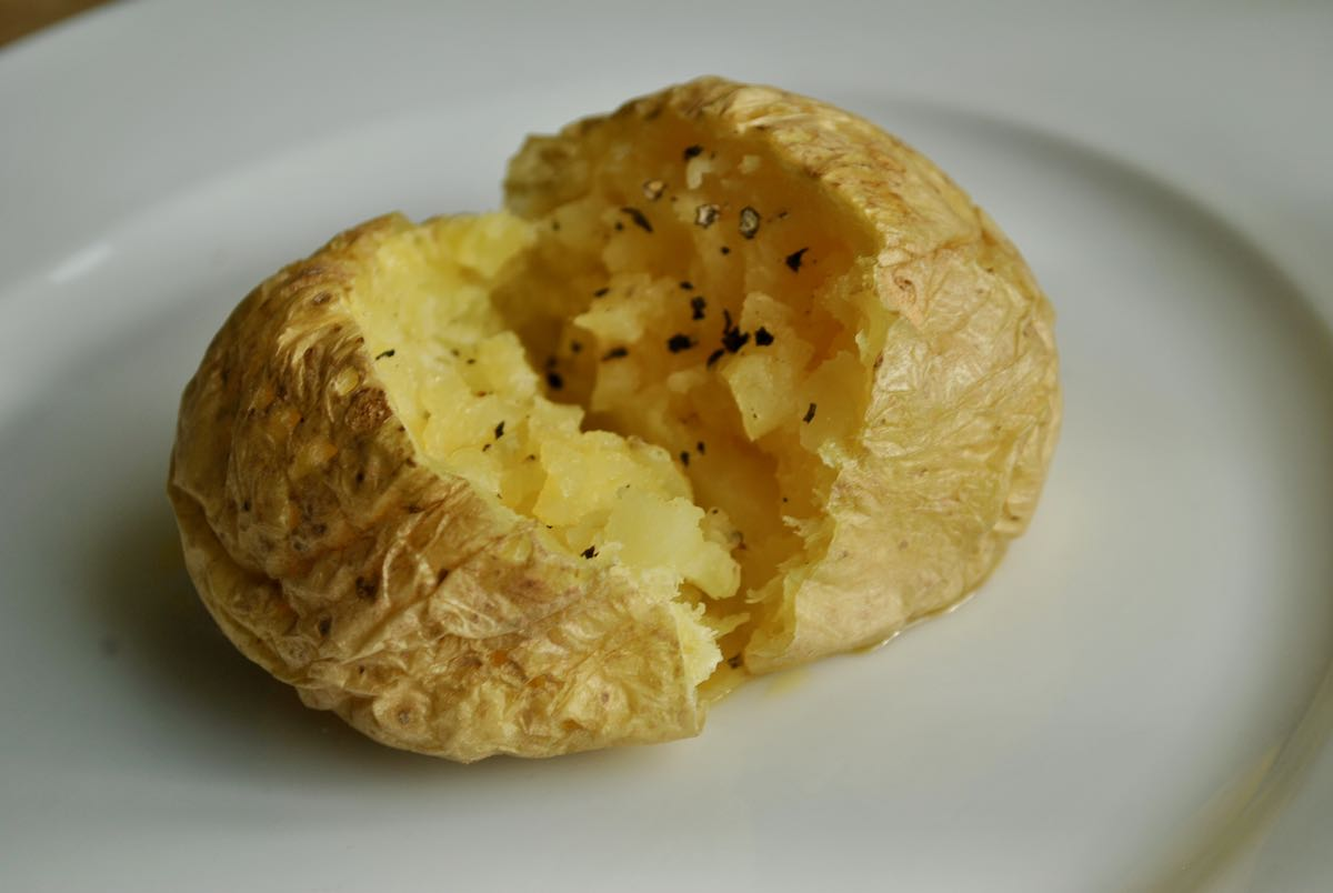How To Make Perfect Microwave Baked Potatoes
