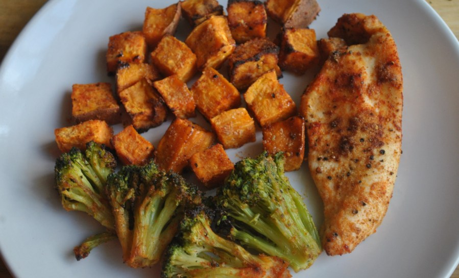 chicken sweet potato broccoli recipe - 3