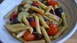 pesto roasted vegetable pasta recipe - 2