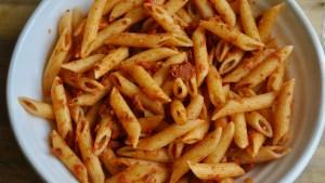 tuna chorizo pasta recipe - 1 (1)