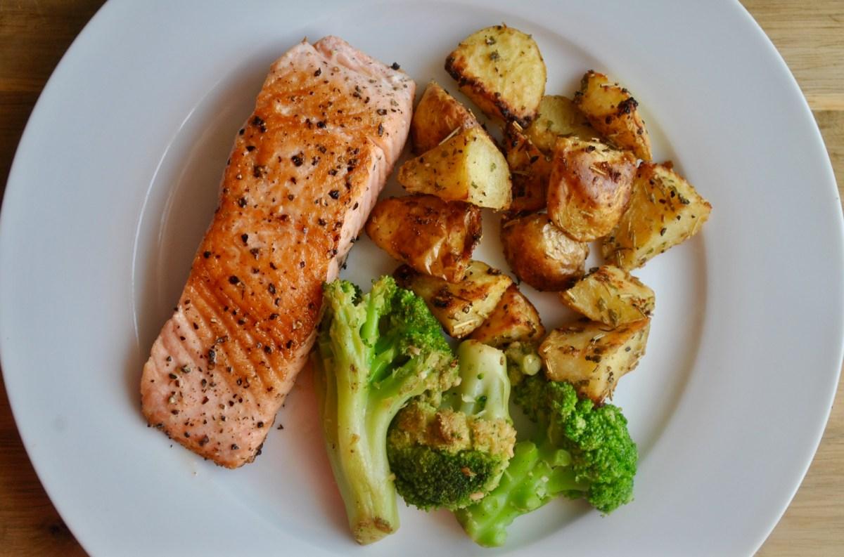 butter fried salmon recipe - 1 (1)