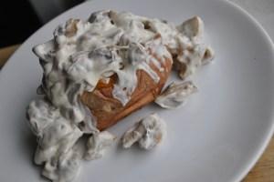 creamy mushroom baked potato recipe - 1