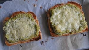 avocado and cheese toast recipe - 1