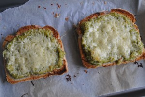 avocado and cheese toast recipe - 1